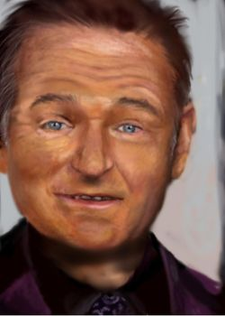 Robin Williams by anianan