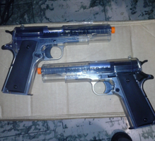 my new airsofts M-1911ZH by 4ellyK