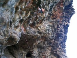 mount coolum rock climbing by chikoroll