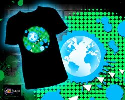 Earth T-shirt by bouboudesign