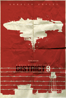 District 9 Minimalist Poster by shrimpy99