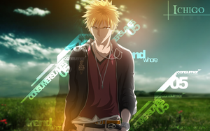 Ichigo WallPaper by kisi86