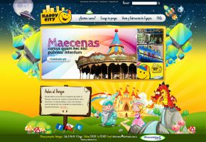 Web design Divertronica by camilojones