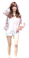 SNSD (Tffany) Render by Pngs-Celebrities