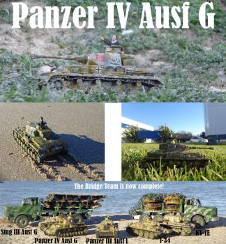 My second Panzer IV Ausf G is operational! by DingoPatagonico