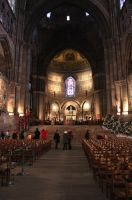 Strasbourg Cathedral Interior by xcxNinuixcx