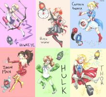 Magical Avengers by MidoriLied