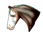 Realistic shaded horse by WildSpiritThings