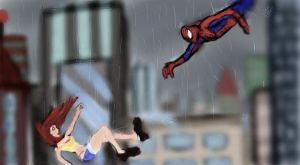 Mary Jane in Peril by Jagsrock