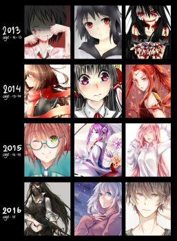 2013-2014-2015-2016 by BloodyLove3