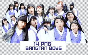 Pack PNG #137: BTS by jimikwon2518