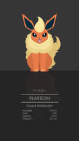 Flareon by WEAPONIX