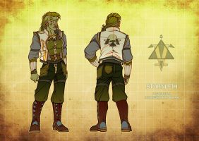 Foot-soldier's uniform by Katerinich