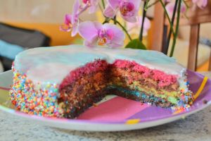 rainbow cake3 by gingervale