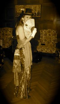 steampunk tg costume sepia by co1dpaws