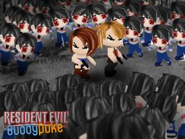 Jill and Alice - Resident Evil by buddy-poke-club
