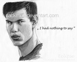 Jacob: I had nothing to say by nackmu