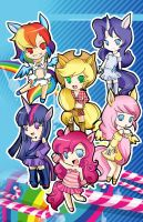 My little pony by tachiik