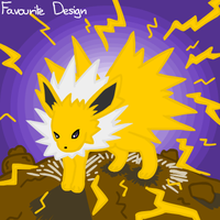 23 - Jolteon by crystalkirby