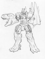 Beast Wars Megatron by TGping