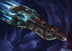 Spacefight - Stellar Superdestroyer by s0lar1x