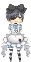 Ciel in wonderland: Ciel by VividFlow