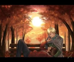Autumn is a second spring. HD by Isi-Angelwings