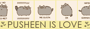 PUSHEEN IS LOVE by dahnie149