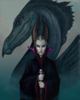Maleficent by ballisticCow