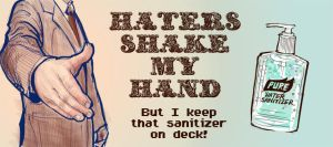 Haters shake my hand by The-Art-Official