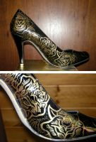 Sharpie Pumps Photoshoot 2 by theyellowcoyote