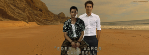 Eden and Aaron Campbell by AkilajoGraphic