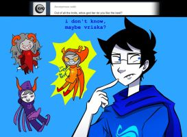 Ask john egbert 176 by LeijonNepeta