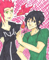 Axel and Leo by Ashe1313