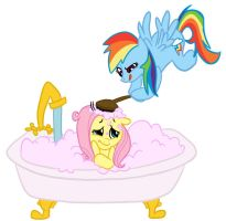 Bath Day is a very dangerous day. by Elslowmo