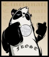 New stickers 513 panda by FROST513