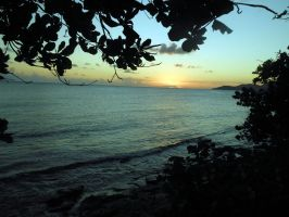 Puerto Rico sunset by TiffyLiz