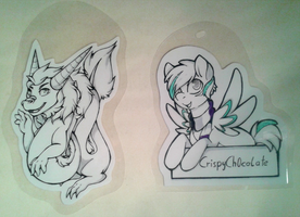Badges by CrispyCh0colate