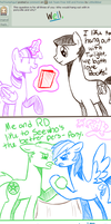 Question Four for Team Free Will: Ponies by LittleJibber