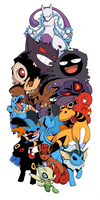 Pokemon Sleeve 8 by H0lyhandgrenade