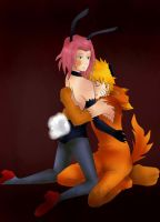 +The fox and the rabid+ by f-sangre