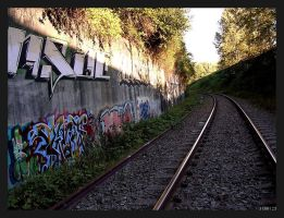 Graffiti + Tracks by Terri23