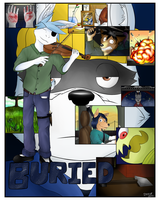 Buried - Part 1 Poster by Stickmanwww