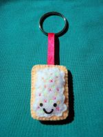 Poptart keychain by ooCottonCandyoo