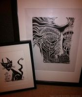 Some of my printmaking by David-Steele