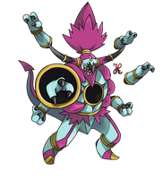 Hoopa Unbound by icaro382