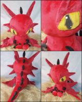 Smaug Plush ~ I am Fire, I am... Death! by nightelfy