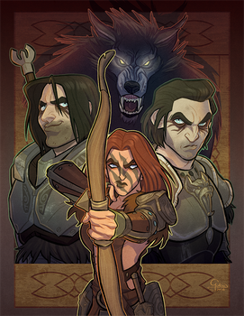 The Companions by GalooGameLady