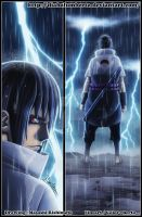 Sasuke enters the battlefield II by diabolumberto