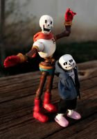 Handmade Skelebro Dolls! by Zhamka